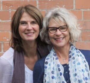 Heidi and Caroline
