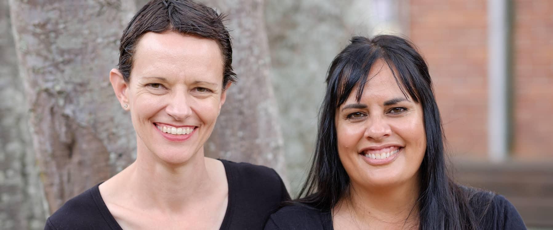 Yvette Swan and Deborah Cook, Leela Therapists